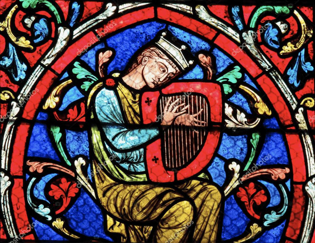 Este vitreaux pertenece a la catedral de Notre-Dame, París. Considerada una de las mas antiguas catedrales góticas.